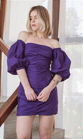 Vestido Atenas Púrpura