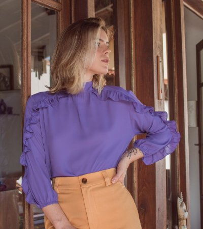 Blusa Holland Ultra Violeta