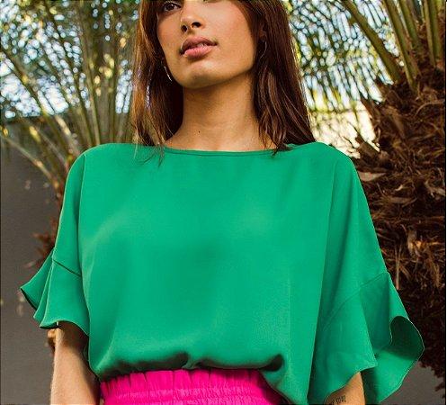 Blusa Gaia Verde Floresta