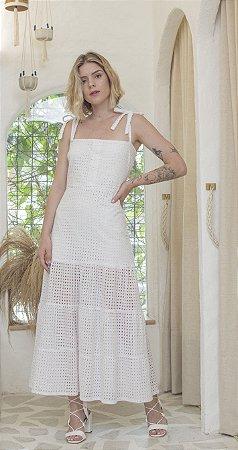 Vestido Prado Branco