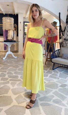 Vestido New Lince Sol s/cinto