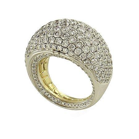 Anel em Ouro  c/ Diamantes   -  cod 09045050