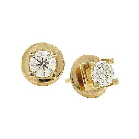Brinco em Ouro c/ Diamantes  - cod 02005097