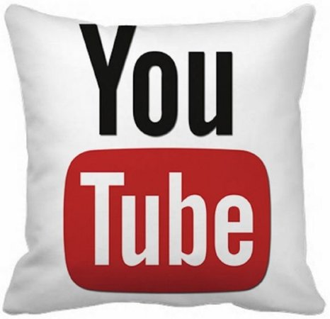 Almofada 40x40 - Youtube ALRS001