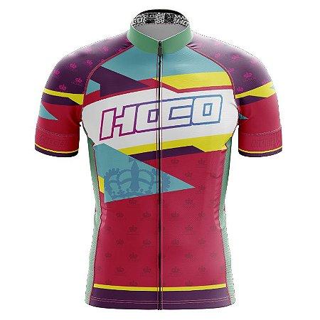 Camisa de Ciclismo Pró Race - Polígonos