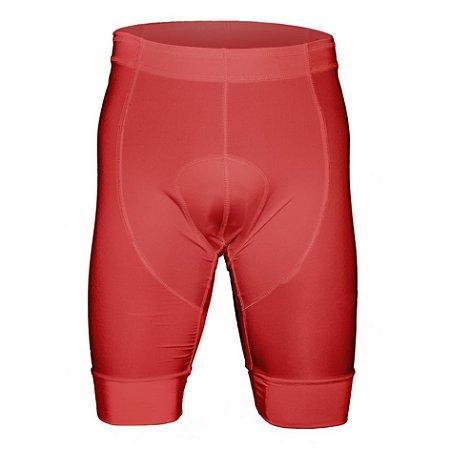 Short de Ciclismo - Vermelho