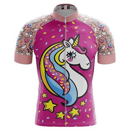 Camisa de Ciclismo PRO - Unicórnio