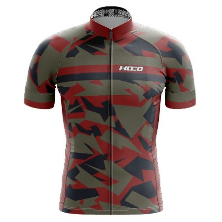 Camisa de Ciclismo Pró Race - Camuflado