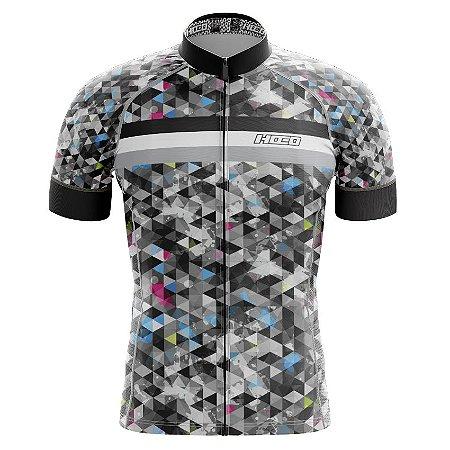 Camisa de Ciclismo Pró Race - Triângulos