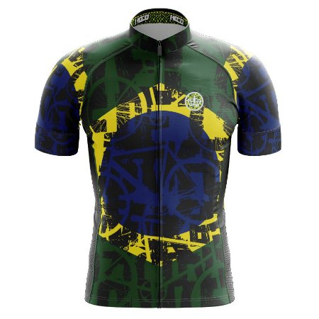 Camisa de Ciclismo PRO - Brasil