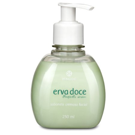 Sabonete  Liquido Cremoso Facial Erva Doce 250ml
