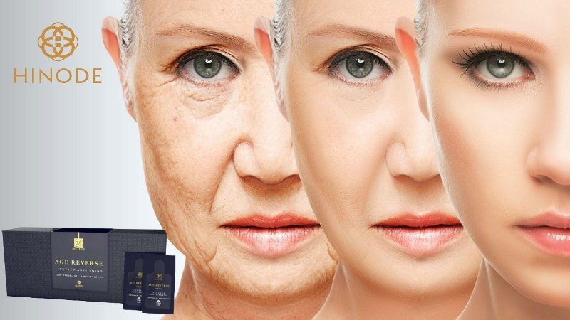 Age Reverse Instant Anti-Idade  Routine  Hinode 1cx ,  21 Saches