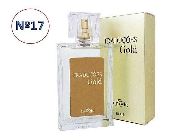 Perfume Traduções  Gold  nº 17  Masculino  HINODE  100ml