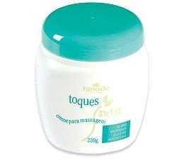 Toques Sutis Creme para Massagem 220g   HINODE