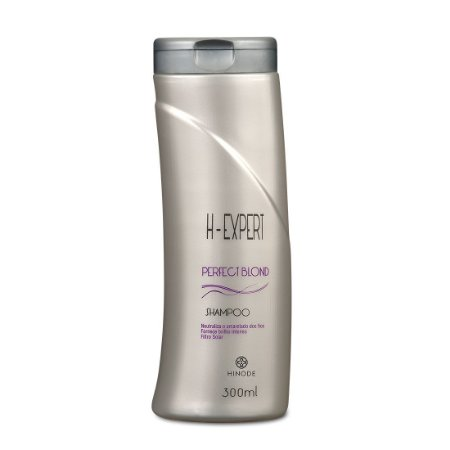 Shampo Perfect Blond Desamarelador H-Expert  Hinode 300 Ml