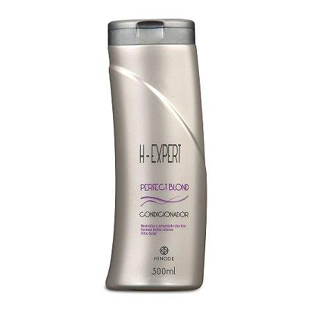 Condicionador Perfect Blond Desamarelador H-Expert  Hinode 300ml