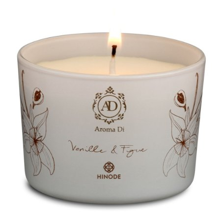 Vela Perfumada Vanille & Figue Aroma Di Hinode 90g