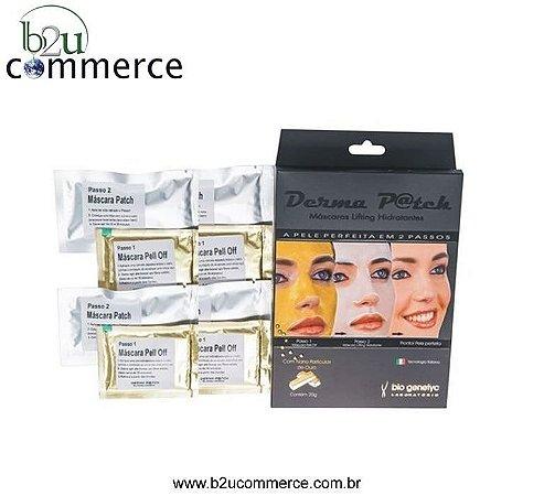 Derma P@tch - 4 Aplicações - Máscara De Ouro - Frete Grátis