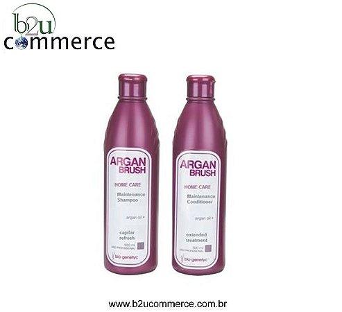 Shampoo e Condicionador de Manutenção - Hidratação Profunda - Pós Progressiva - 2x500ml