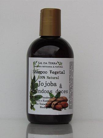 Shampoo Jojoba & Amêndoas-doces 250 mL