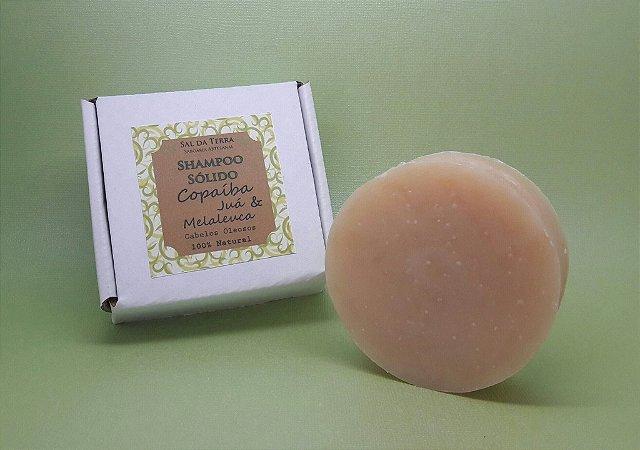 Shampoo Sólido Cabelos Oleosos