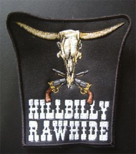 Patch Médio Touro Hillbilly Rawhide