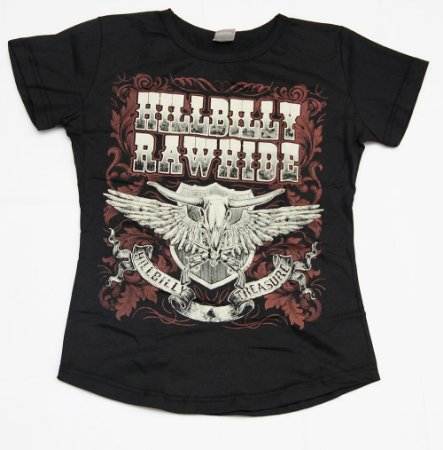 Camiseta Hillbilly Treasure Feminina