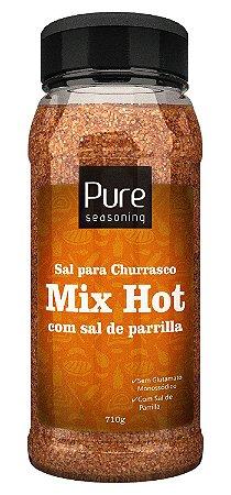 Sal para Churrasco Mix Hot com Sal de Parrilla 710g