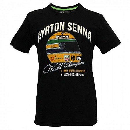 Camiseta Senna - WORLD CHAMPION