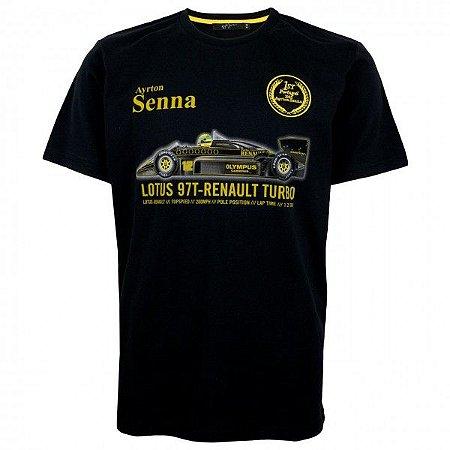 Camiseta Senna - CLASSIC TEAM LOTUS