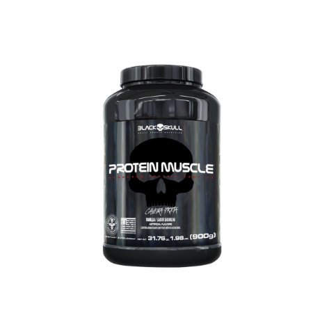 Protein muscle 900g - Black Skull