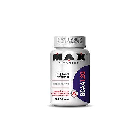 BCAA 1.2g 120 Tabs - Max Titanium