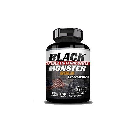Tribul. Terrest. c/maca 150caps - Black Monster