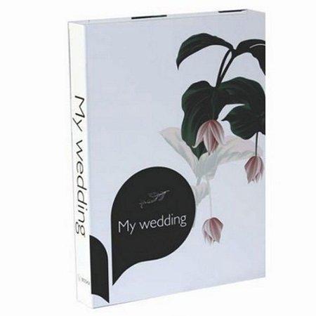 Caixa Livro My Wedding  36x27x5cm