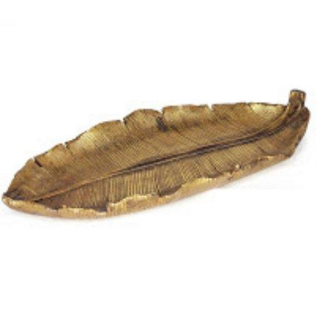 Folha Decorativa Dourado Envelhecido