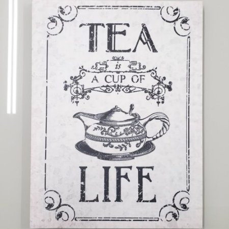 Painel Tea A Cup Of Life