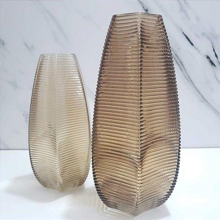 Vaso Decorativo Marrom G