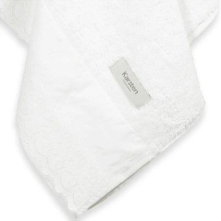 Toalha para Lavabo Branca Karsten