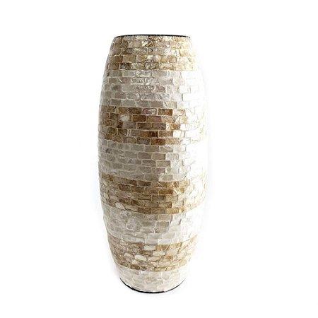 Vaso Decorativo Madre Pérola P Espressione