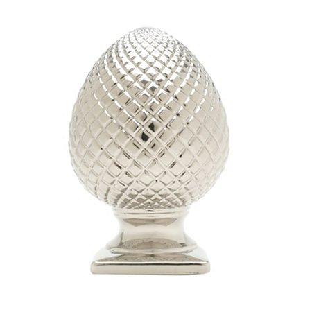 Figura Decorativa Pinha Prata