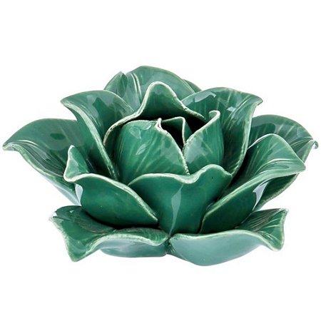 Flor Verde Cerâmica
