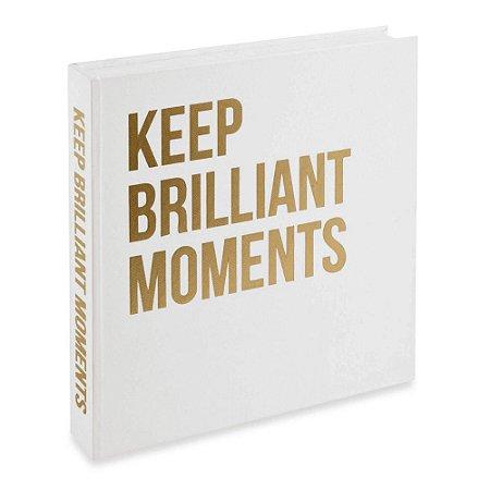 Caixa Livro Keep Brilliant Moments