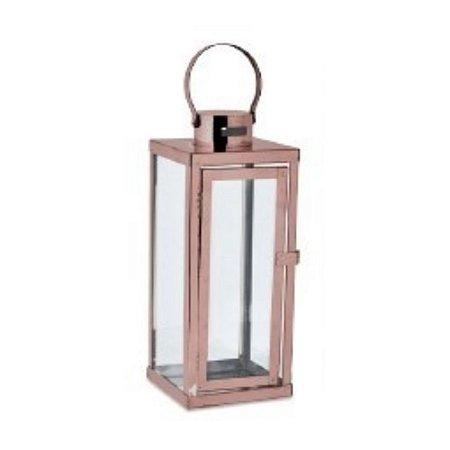 Lanterna Metal Cobre P