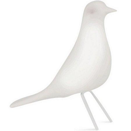Pássaro Branco Cerâmica P