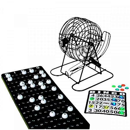 Jogo de Bingo com roleta 244 peças - Red Star