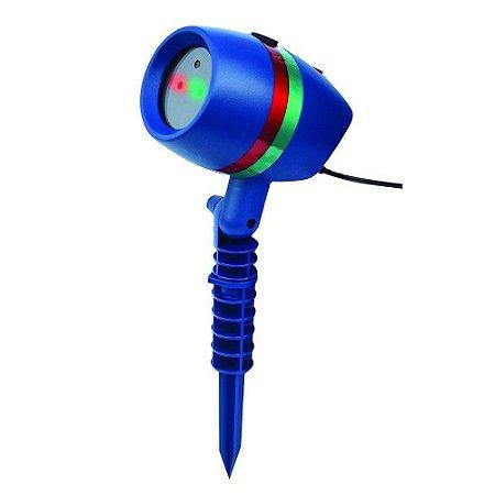 Projetor Luz Natal/Decoração 2v. Laser Light/Grand