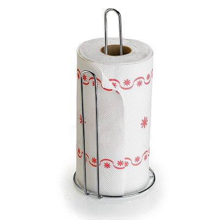 Porta Rolo de Papel Toalha Aço Cromado - Arthi