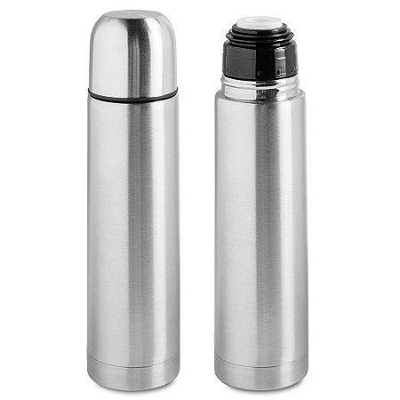 Garrafa Térmica Aço Inox Resistente 500ml Quente e Frio - Wincy