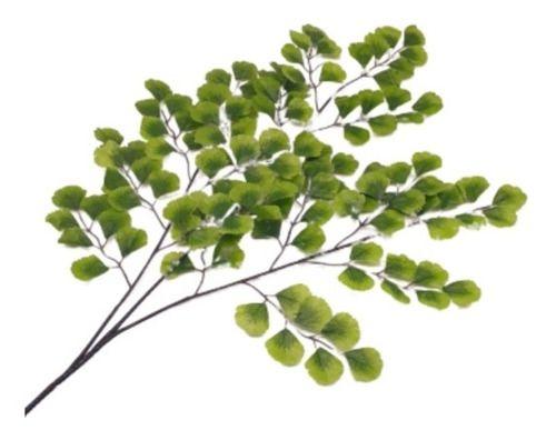 Planta Folhagem Artificial Verde Decoração 60 Cm