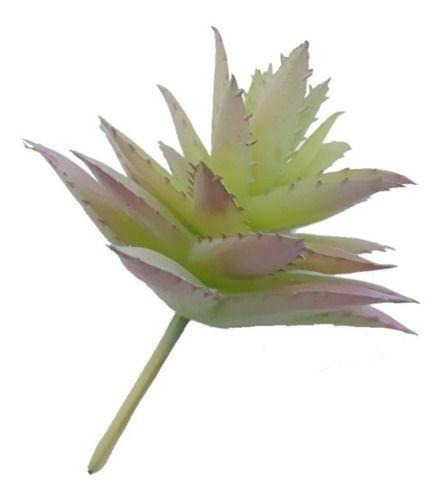Planta Suculenta Artificial 10x5 Cm Decoração
